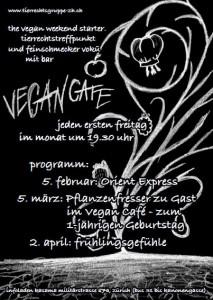 Flyer Vegan Cafe (Feb.-April)