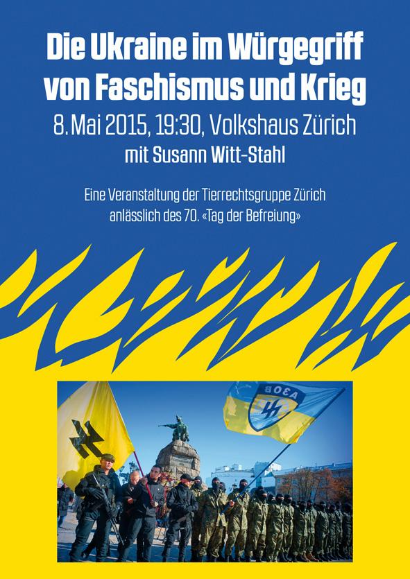 Ukraine Susann Witt-Stahl Zürich