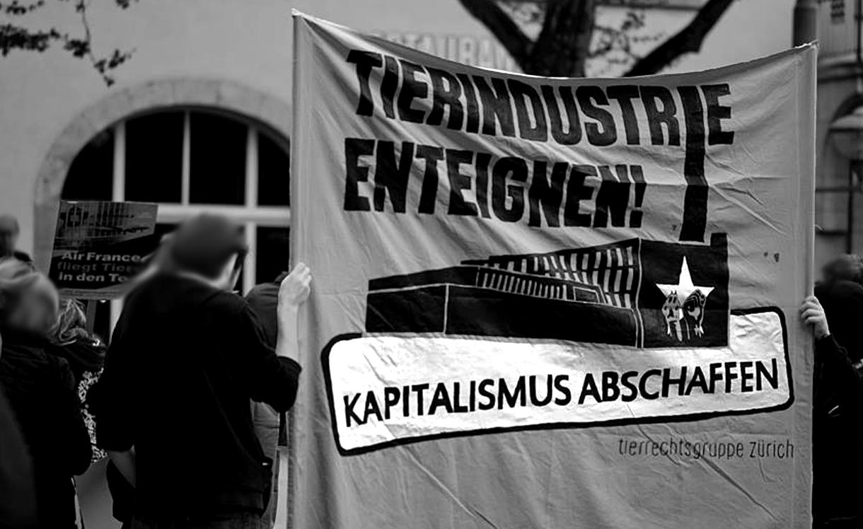 Demo gegen Tierversuche Zürich