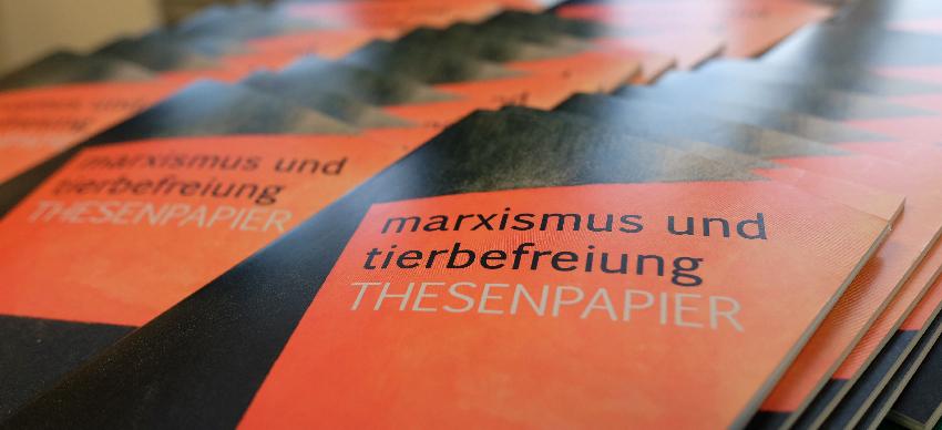 Thesenpapier 2017 Bündnis Marxismus und Tierbefreiung Hamburg Zürich Tierrechtsgruppe Assoziation Dämmerung Rosa Luxemburg Konferenz