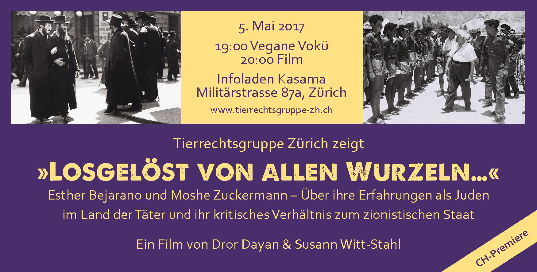 Losgelöst von allen Wurzeln Film Melodie und Rhythmus Tierrechtsgruppe Zürich
