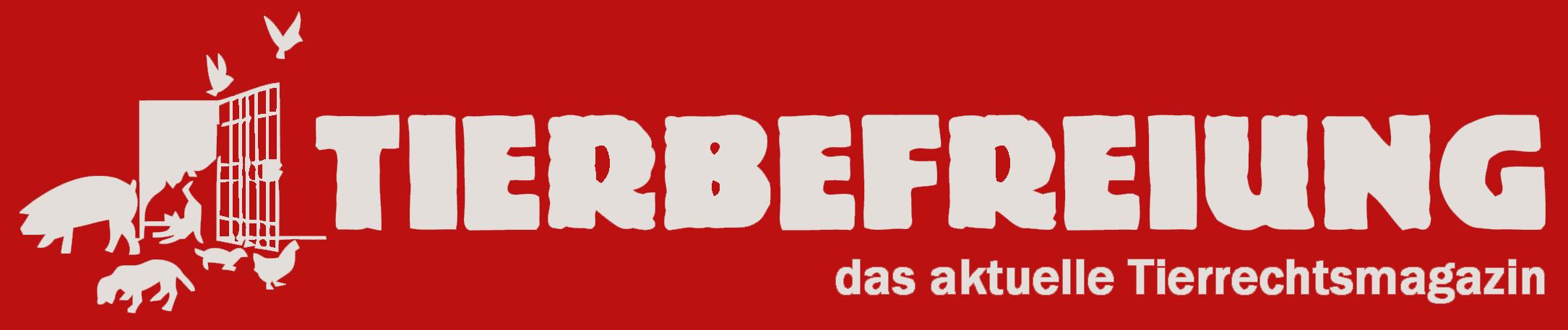 Logo Tierbefreiung - das aktuelle Tierrechtsmagazin