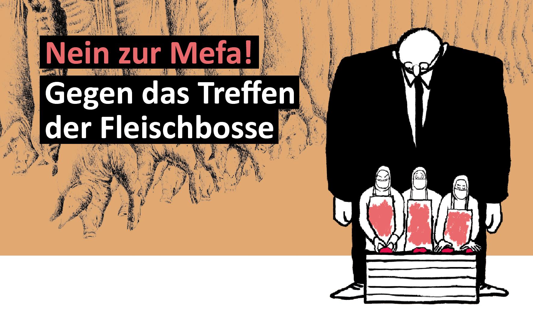 Protest Mefa Basel 2017