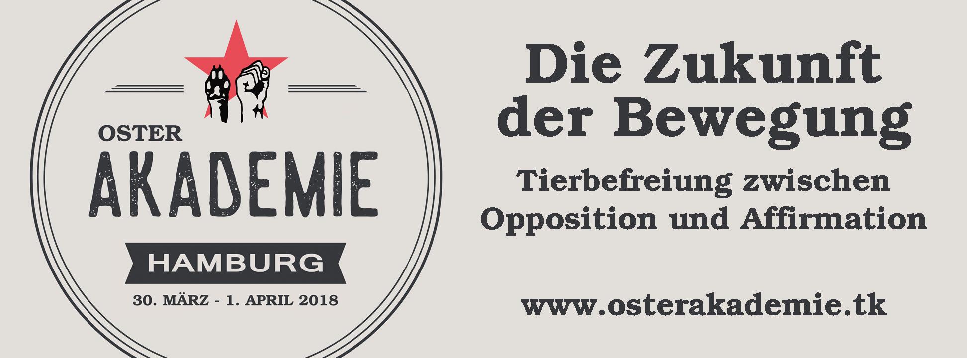 Osterakademie Bündnis Marxismus und Tierbefreiung
