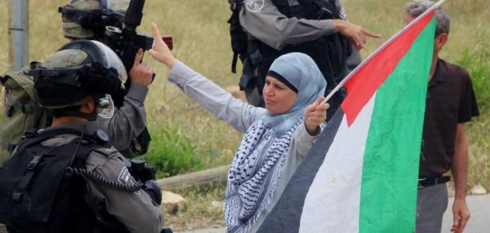 Palästinenserin nicht willkommen