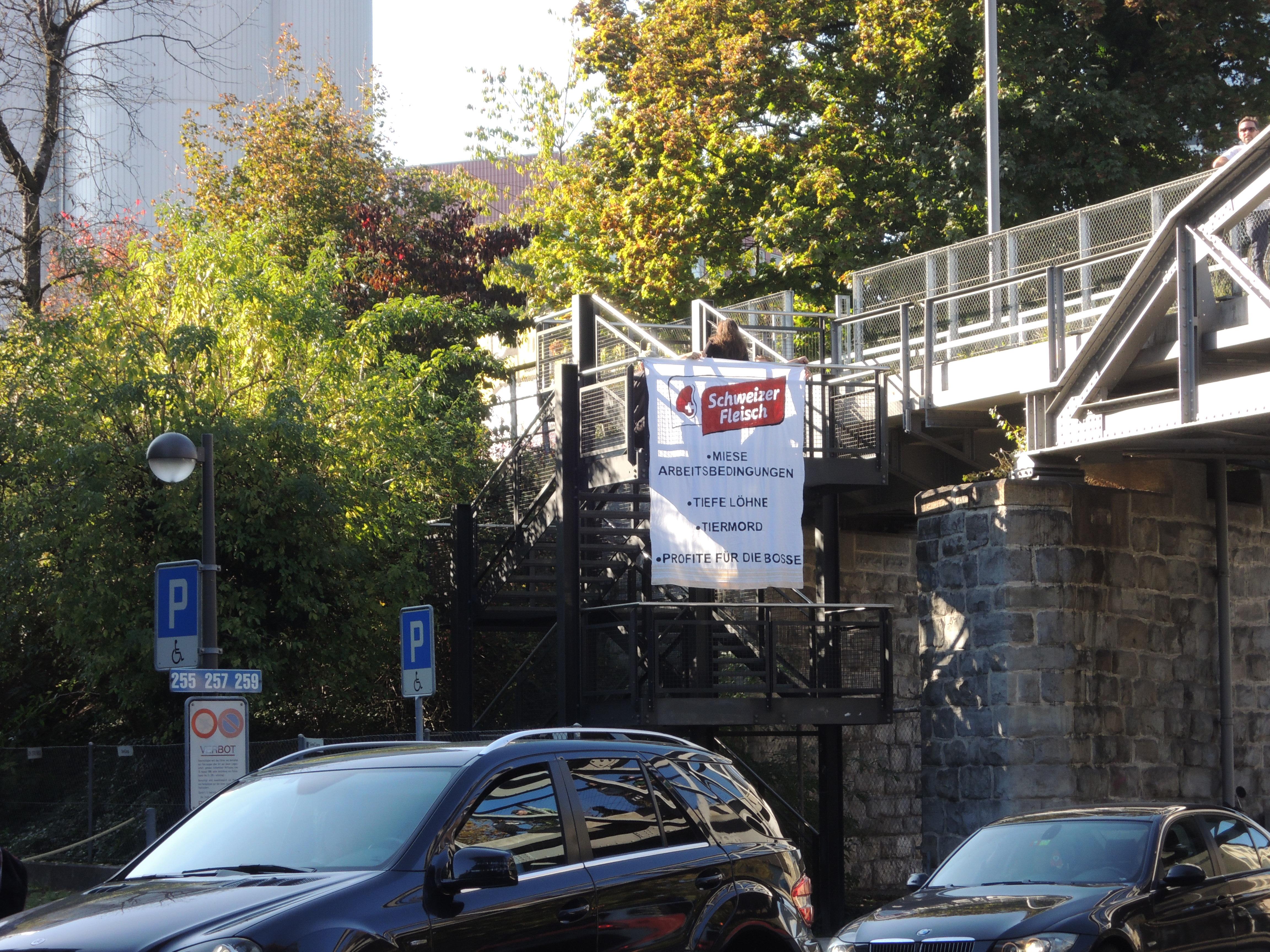 Kundgebung gegen TISA Zürich